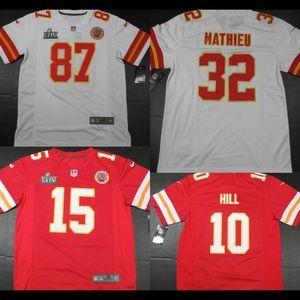 Kansas City chiefs jerseys 2020 NWT